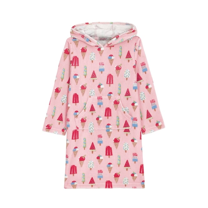 Cath Kidston Girls Little Ice Cream Hooded Towel 1-2 Years