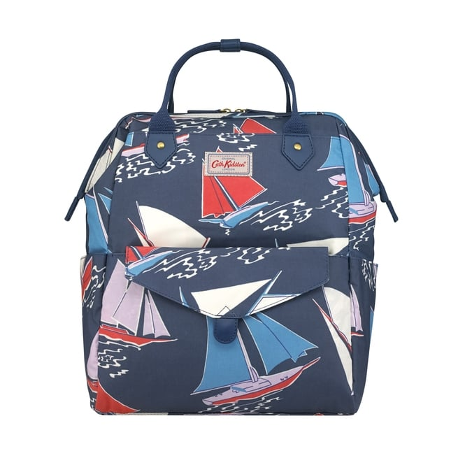Cath Kidston Whitby Waters Frame Backpack