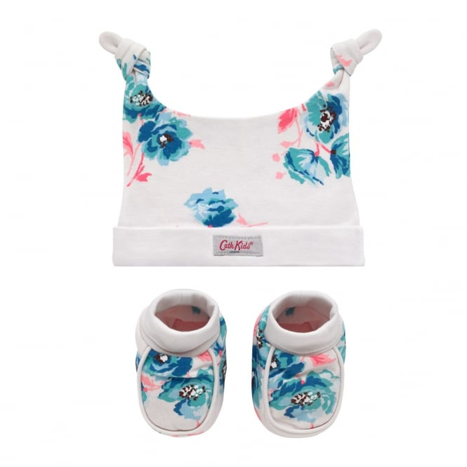 Cath Kidston Hat and Bootie Gift Set Island Bunch