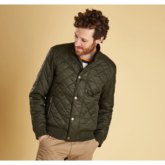 Barbour Moss Quilted Jacket MQU0838