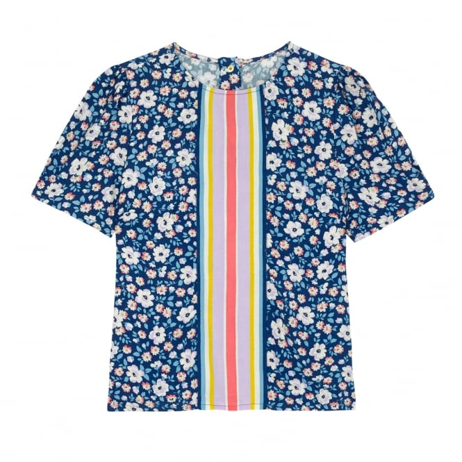 Cath Kidston Island Flowers Modal Top in Size 14