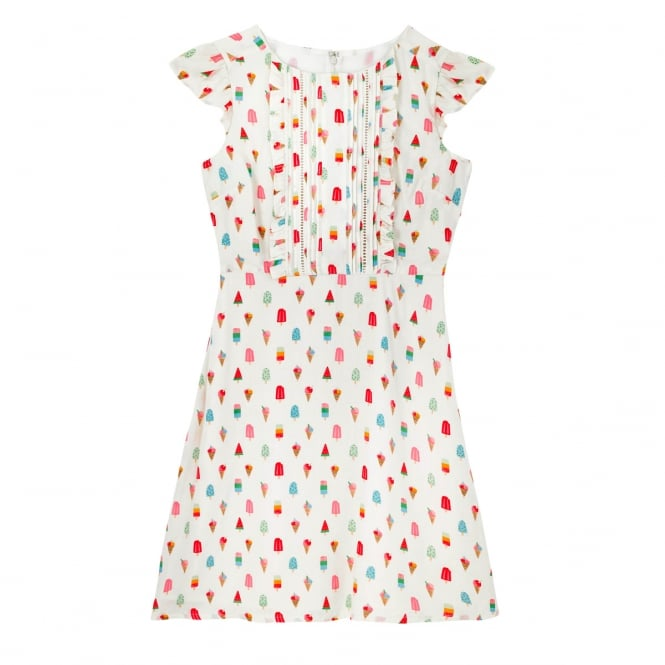 Cath Kidston Lollies Dobby Dress Size 14