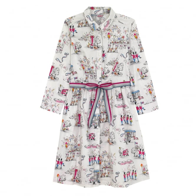 Cath Kidston Cotton Shirt Dress Big Birthday Party 14
