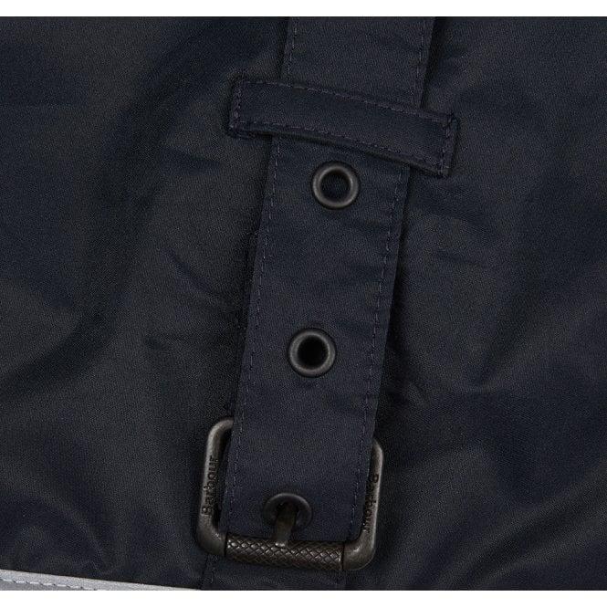 barbour tartan fleece lined dog coat