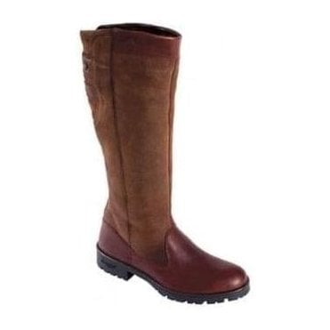 Clare Country Boot Mahogany