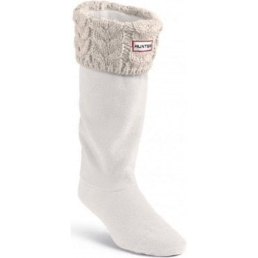 Cable Cuff Welly Sock