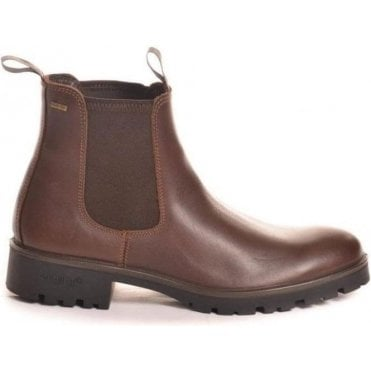 Wicklow Mens Ankle Boot in Walnut or Mahogany