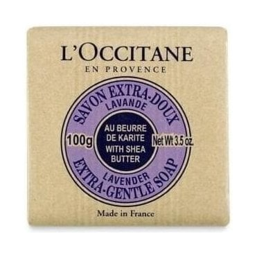 Lavender Shea Butter Extra Gentle Soap 100g