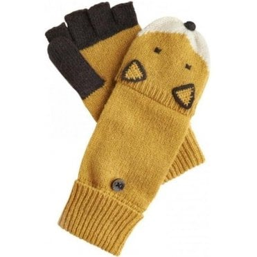 Womens Animal Character Gloves