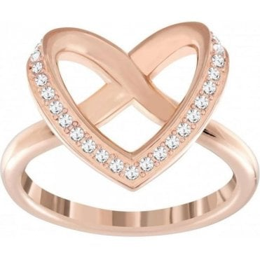 Rose Gold Cupidon Ring, size 52 5139687