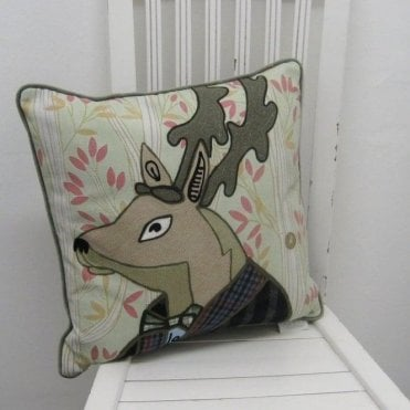 Spencer Stag Cushion 45 x 45 cm