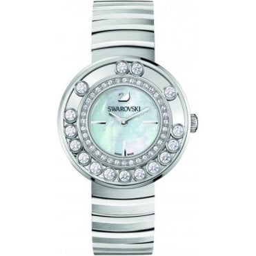 Lovely Crystals White Watch