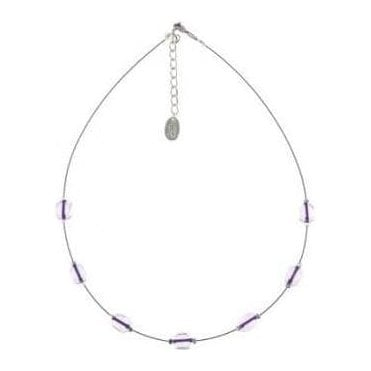 Violet Neon Core Necklace