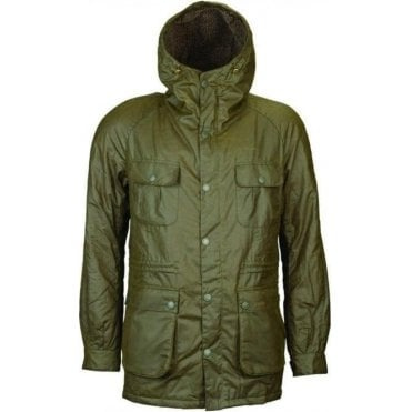 Mens Brindle Wax Jacket