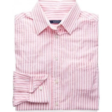 S. Stripe Voile Shirt