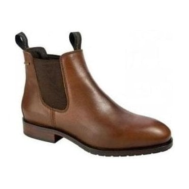 Men's Kerry Leather Chelsea Ankle Boot Chestnut