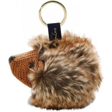 Knitted Key Ring, Hedgehog