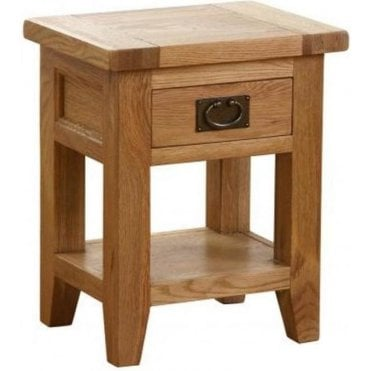 Pembroke 1 Drawer 1 Shelf Bedside Table