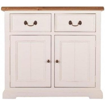 Farmhouse Small Buffet with 2 Drawers & 2 Doors