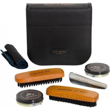 Shoe Shine Kit Black Brogue