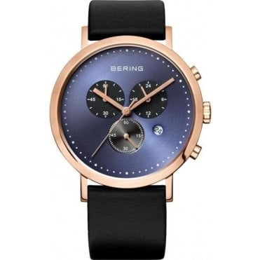 Calfskin Black Watch 10540-567