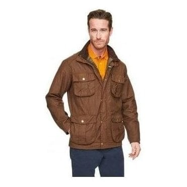 New Utility Waxed Jacket Mens MWX0827
