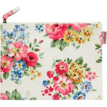Spring Bouquet Large Zip Purse