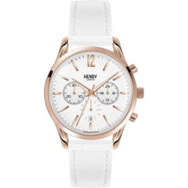 Ladies Pimlico Stainless Steel Chronograph Wrist Watch