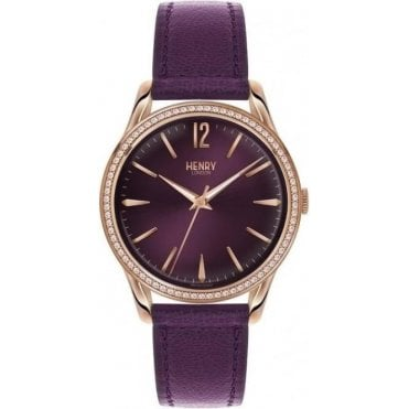 Ladies Hampstead Stainless Steel Analogue Wrist Watch