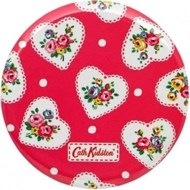 Lace Hearts Pocket Mirror