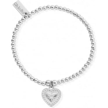 Iconic Silver Cute Charm Star Heart Bracelet