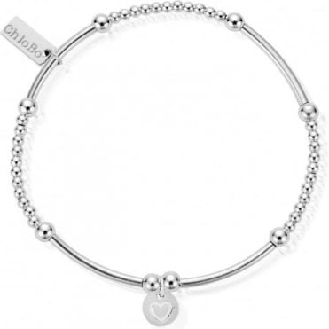 Iconic Cute Mini Heart Circle Bracelet