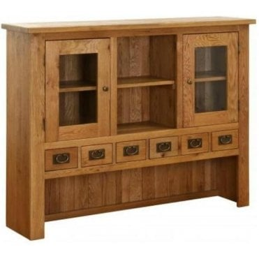 Pembroke 6 Drawer 2 Door Hutch