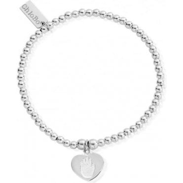 Cute Charm Hand On Heart Bracelet SBCC035