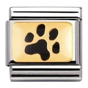 Composable Classic Link Earth Animals Paw Print (030212/35)