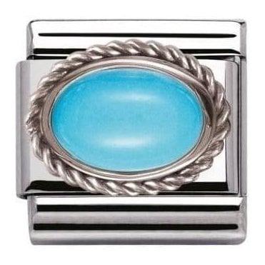 Composable Classic Link Hard Stones Turquoise (030509/06)