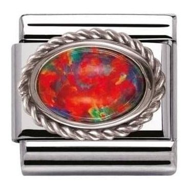 Composable Classic Link Hard Stones Red Opal (030509/08)
