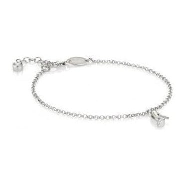 Gioie Bracelet In Sterling Silver And Cubic Zirconia (007_Bootie)