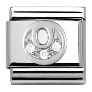 Composable Classic Alphabet Cubic Zirconia And 925 Silver (O)