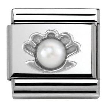 Composable Classic Link Symbols Shell Pearl White (330501/03)