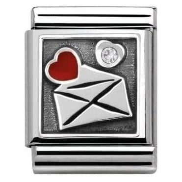 Envelope With Heart Charm