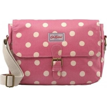 Small Saddle Bag Button Spot Vintage Pink 594059