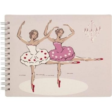Novelty note pad Ballerina Pale Pink 624343