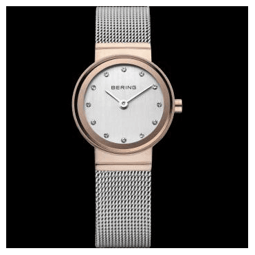 Classic Watch, Silver Mesh Strap and Silver Dial 10126-066