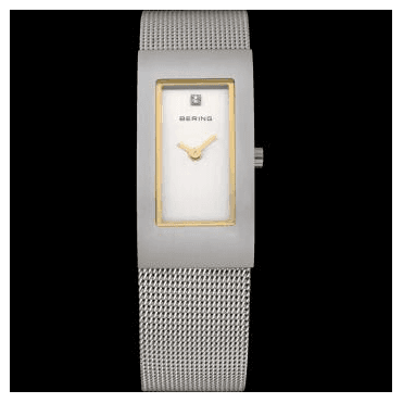 Classic Watch, Silver Mesh Strap and Silver Dial 10817-004