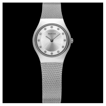 Classic Watch, Silver Mesh Strap and Silver Dial 11923-000