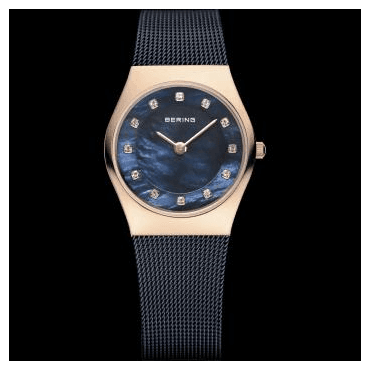 Classic Watch, Blue Mesh Strap and Blue Dial 11927-367