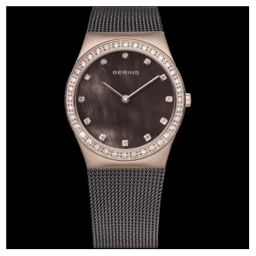 Classic Watch, Brown Mesh Strap and Brown Dial 12426-262