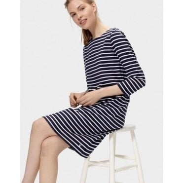 Riviera 3/4 Sleeve Jersey Dress
