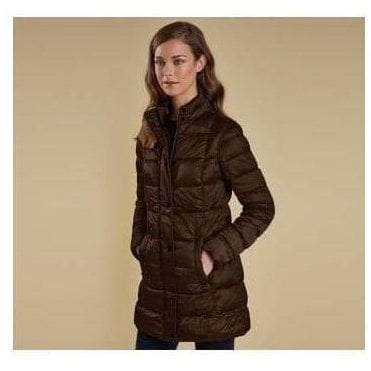 Clyde Long Quilted Jacket LQU0678